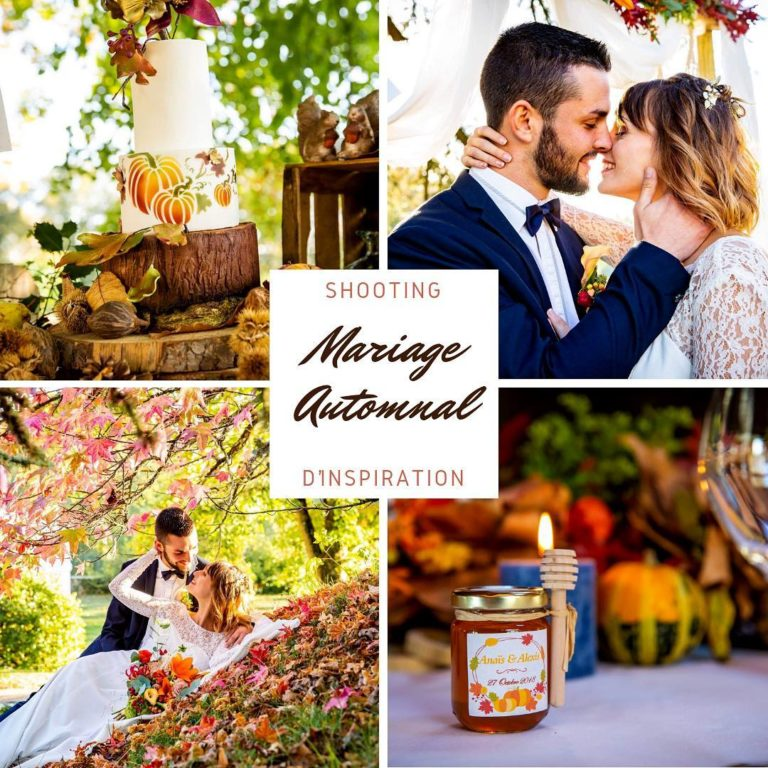 mariage thème automne